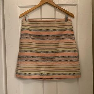 Loft Aztec-pattern summer skirt